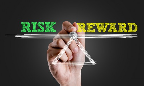 A risk reward ratio involves both risk and reward in equal measure