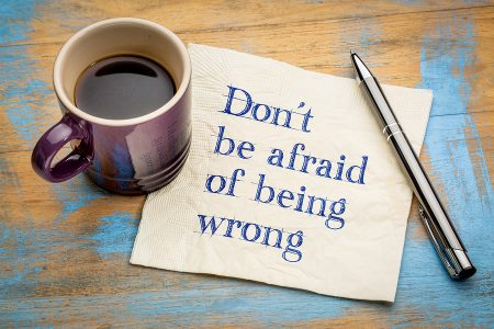Trading Fears: Don't Be Afraid of Being Wrong