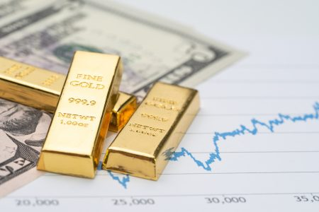A rising US dollar is usually negative for the gold price